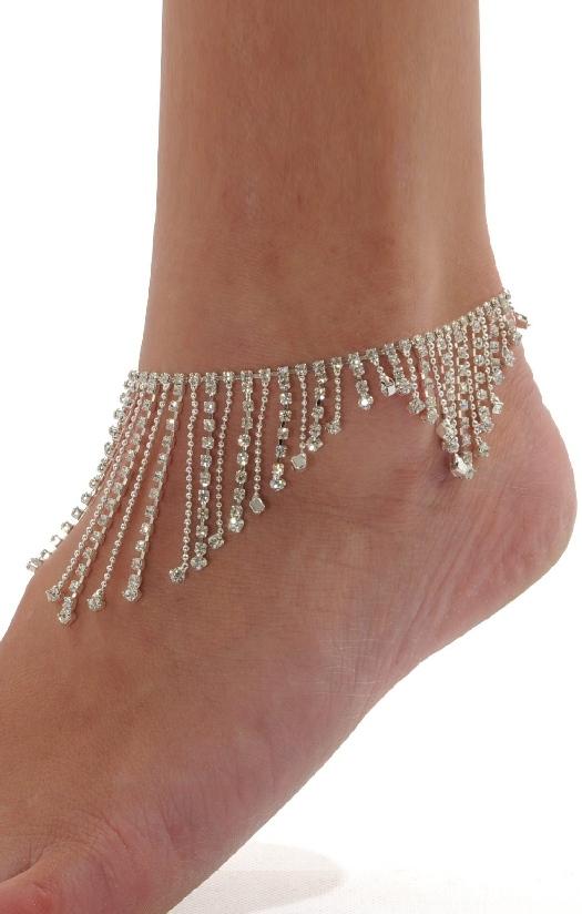 Pleasures Multilayer Necklace Silver