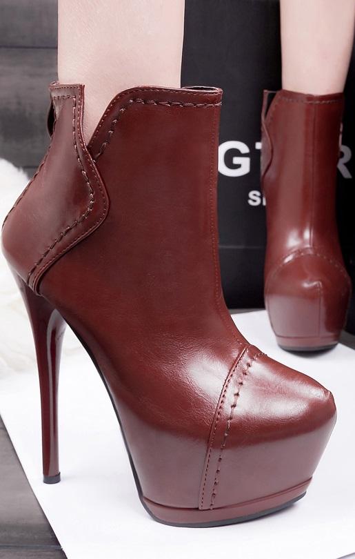 Botins Pleasures Boots Red