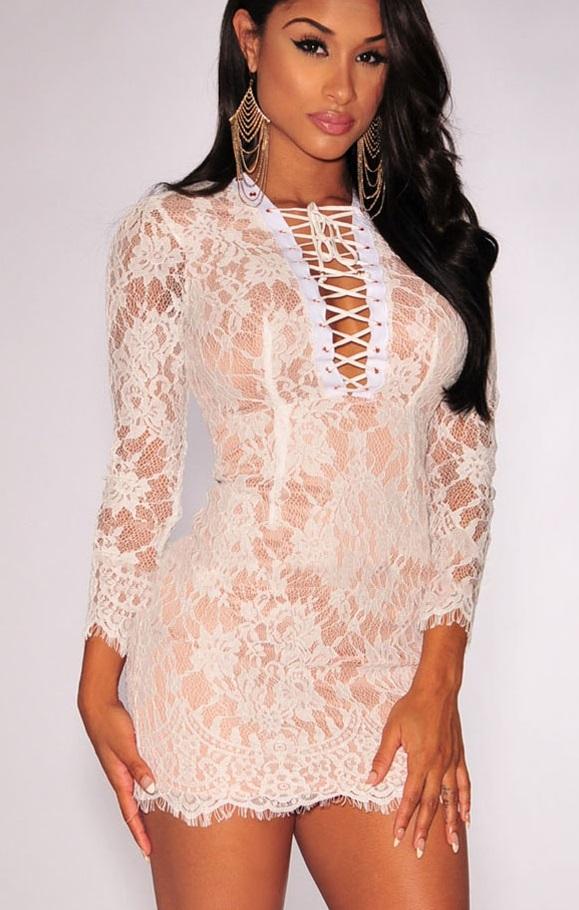 Pleasures Print Dress Rf822044