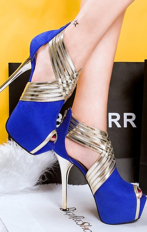 Sandálias Pleasures Sandals Blue