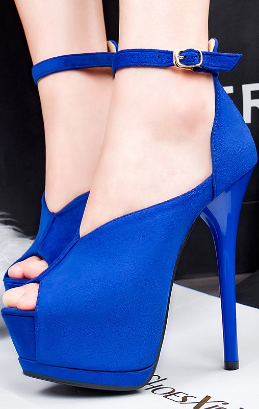 Sapatos Pleasures Sandals blue