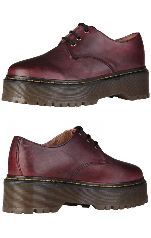 Ana Lublin Urban Shoes Lisbet Bordeaux Rf600184