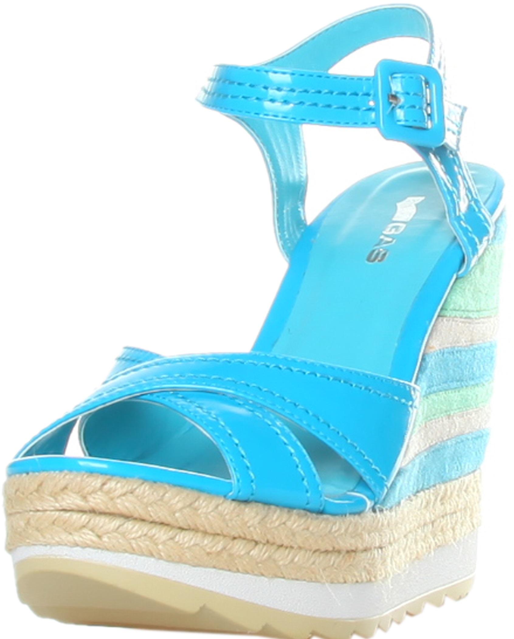 Gas Sandals Blu Rf600204