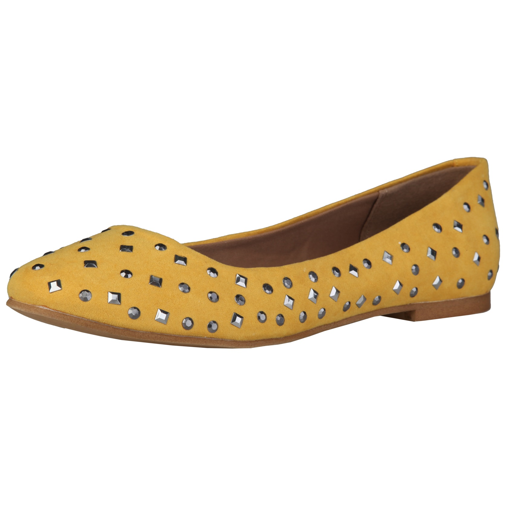 Sofia Loes Flat Shoes Yellow Rf600151