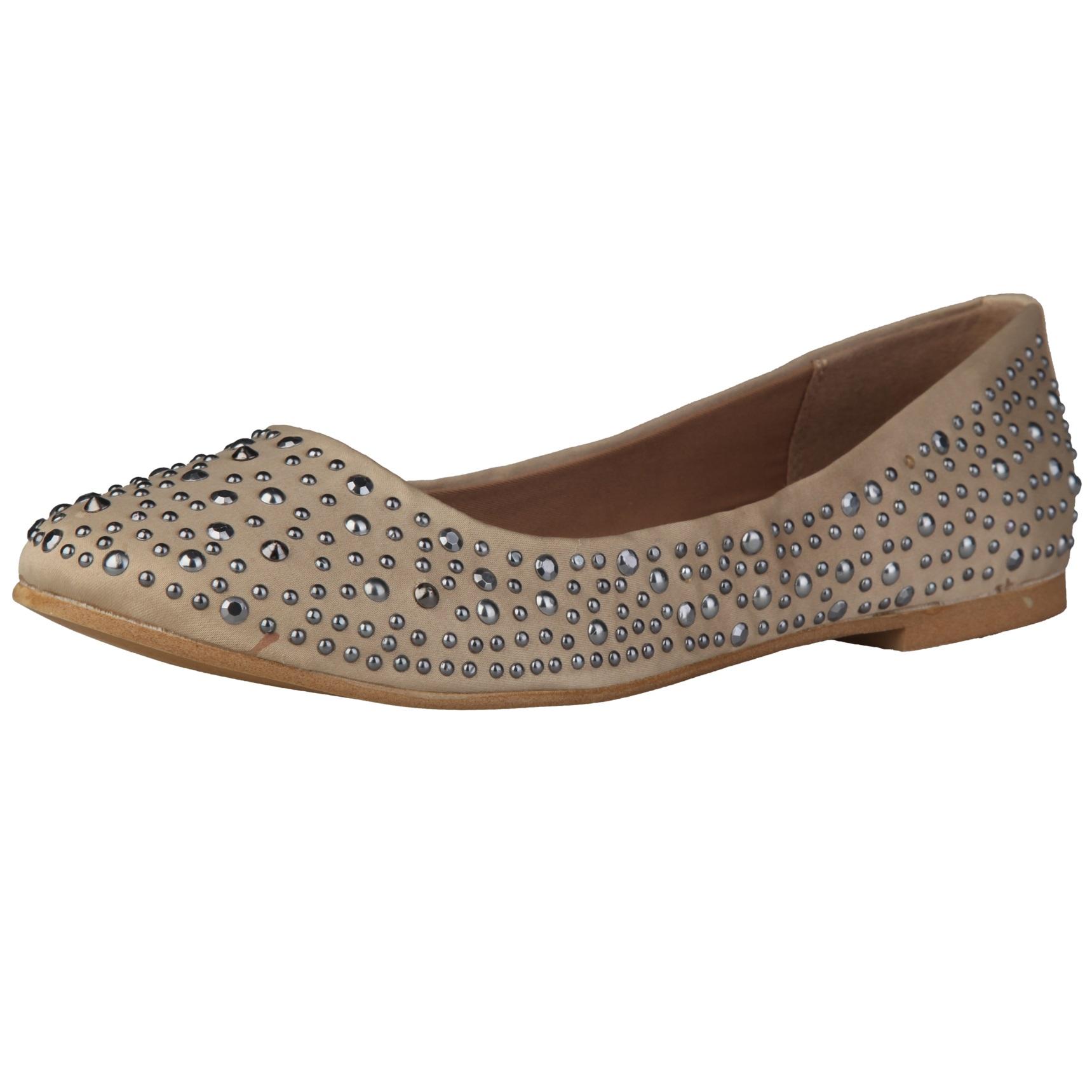 Sofia Loes Flat Shoes Champagne Rf600153