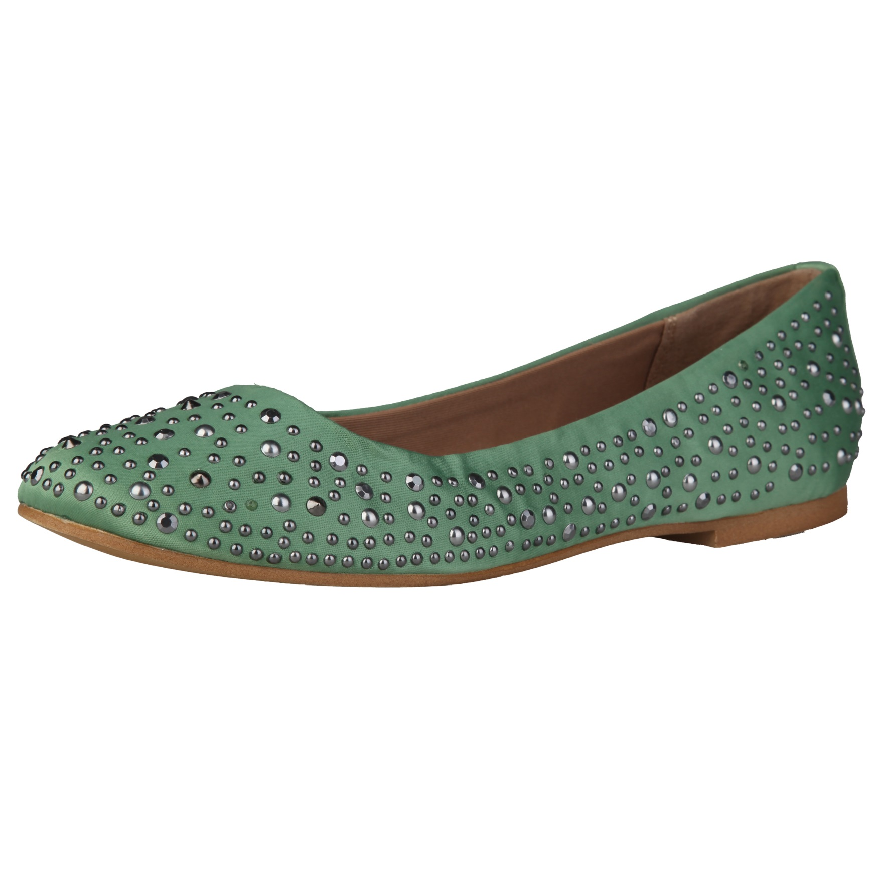 Sofia Loes Flat Shoes Olive Rf600153