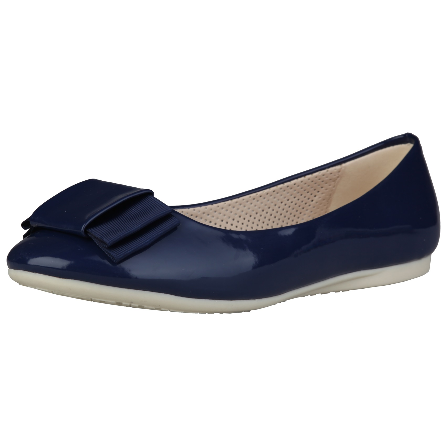 Sofia Loes Flat Shoes Fiocco Bluscuro Rf600154
