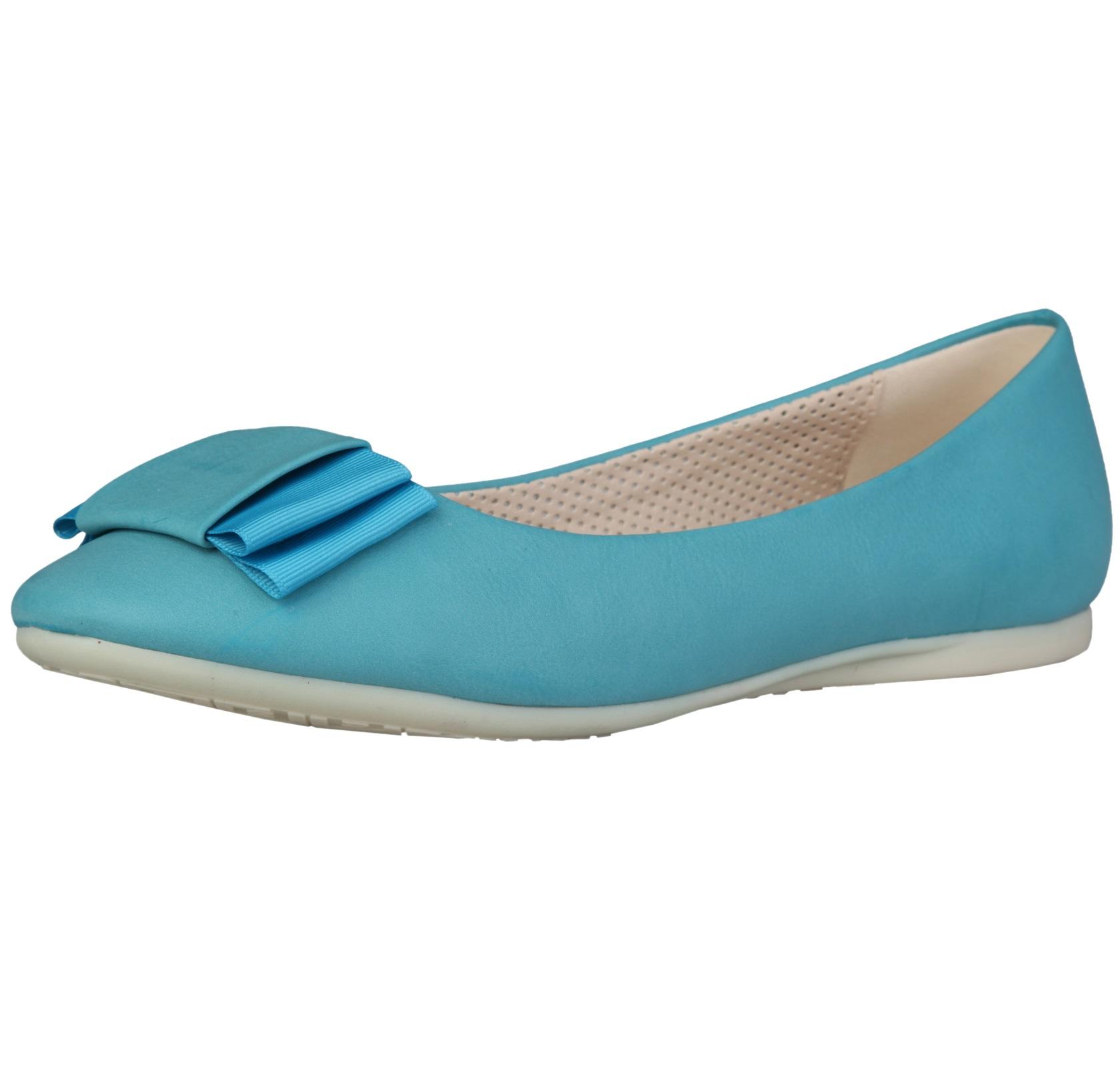 Sofia Loes Flat Shoes Fiocco Bluette Rf600155