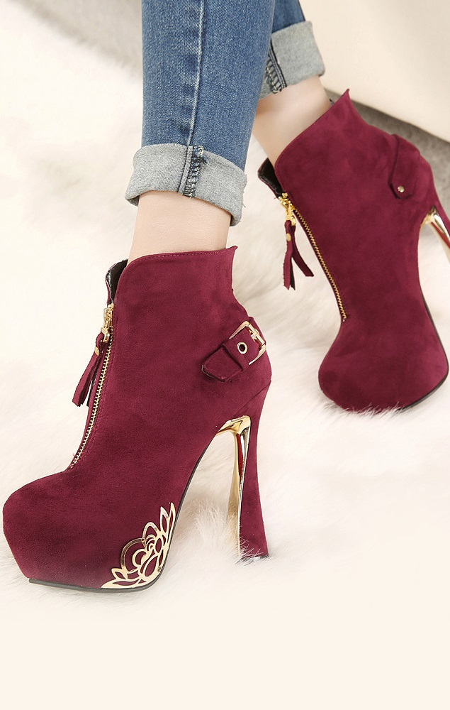 Botim Pleasures Boots Red