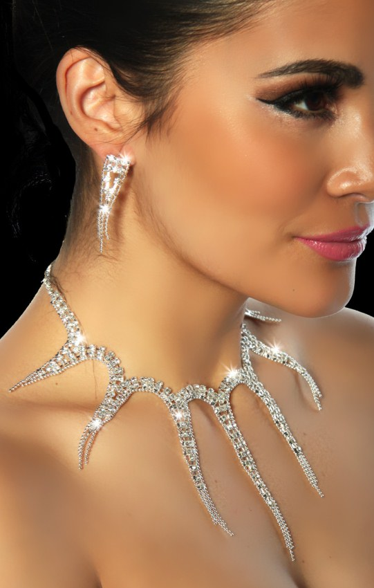 Necklace & Earrings Rf80733