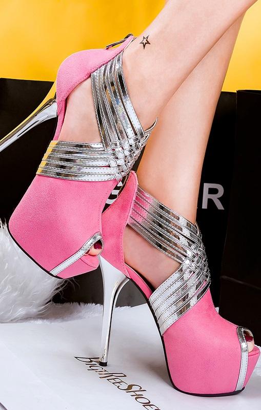 Sandálias Pleasures Sandals Pink