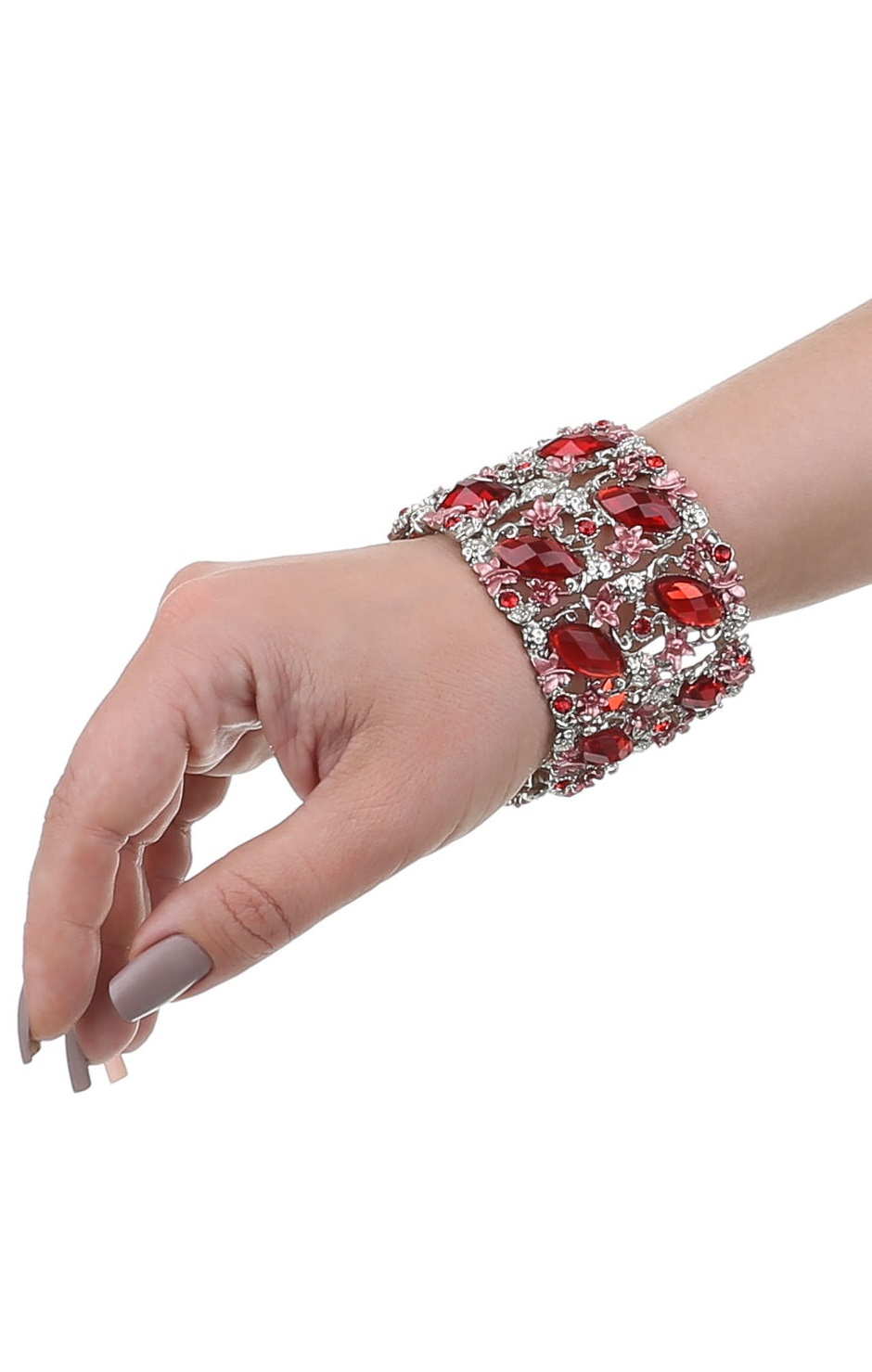 Pleasures Bracelet Red