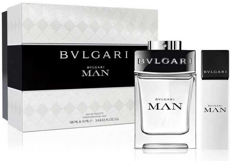 Bvlgari Man EDT Men 100ml + 15 ml Gift Set