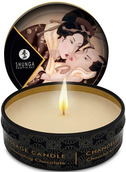 Shunga Massage Candle Chocolate