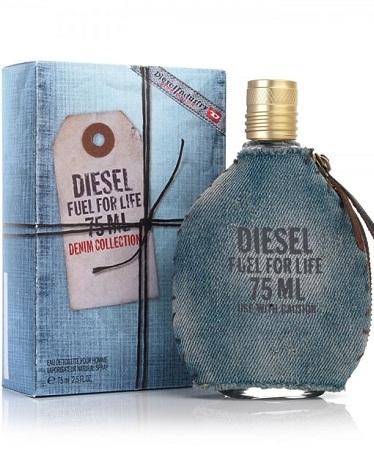Diesel Fuel Life Denim EDT Homme 50ml