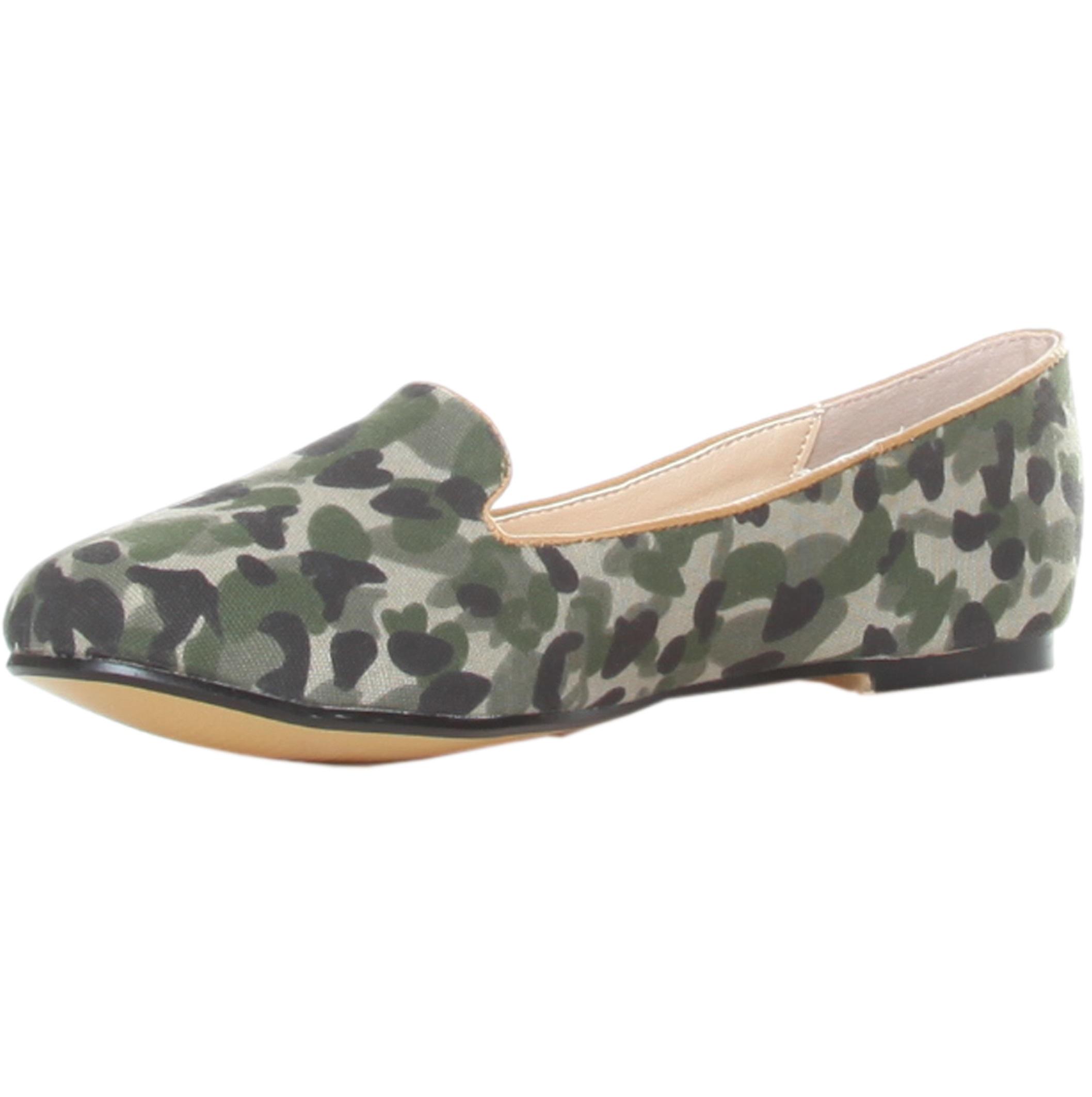 Ana Lublin Flat Shoes Militar Camel Rf600187