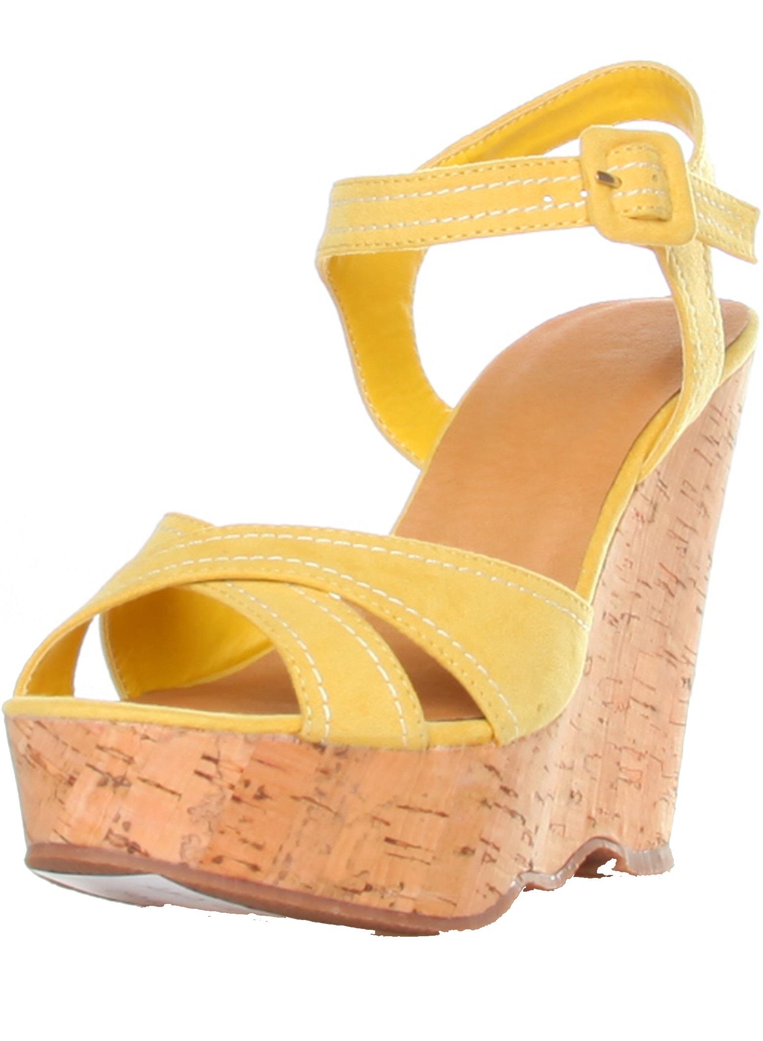 Ana Lublin Sandals Giallo Rf600349
