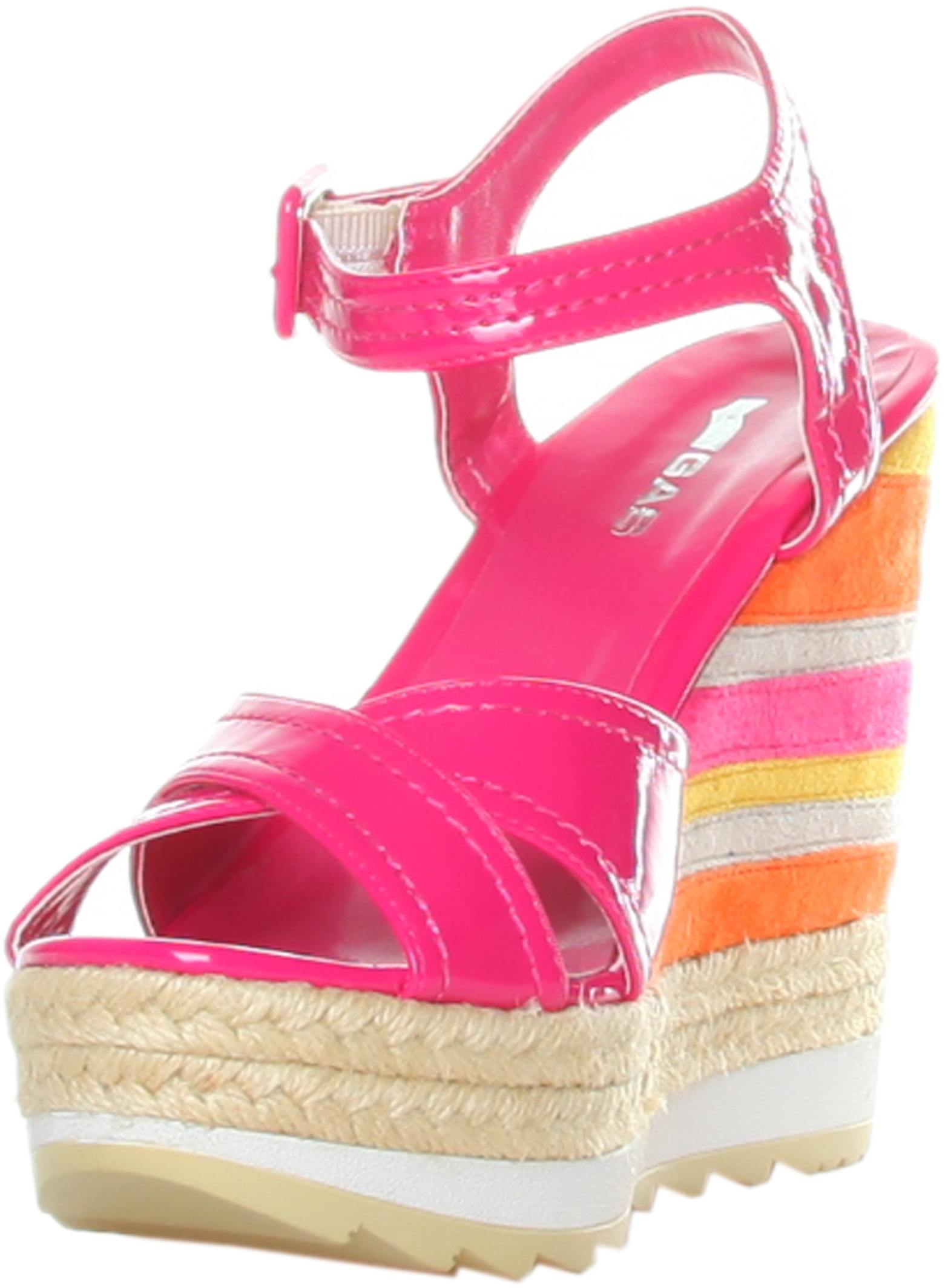 Gas Sandals Fuscia Rf600204