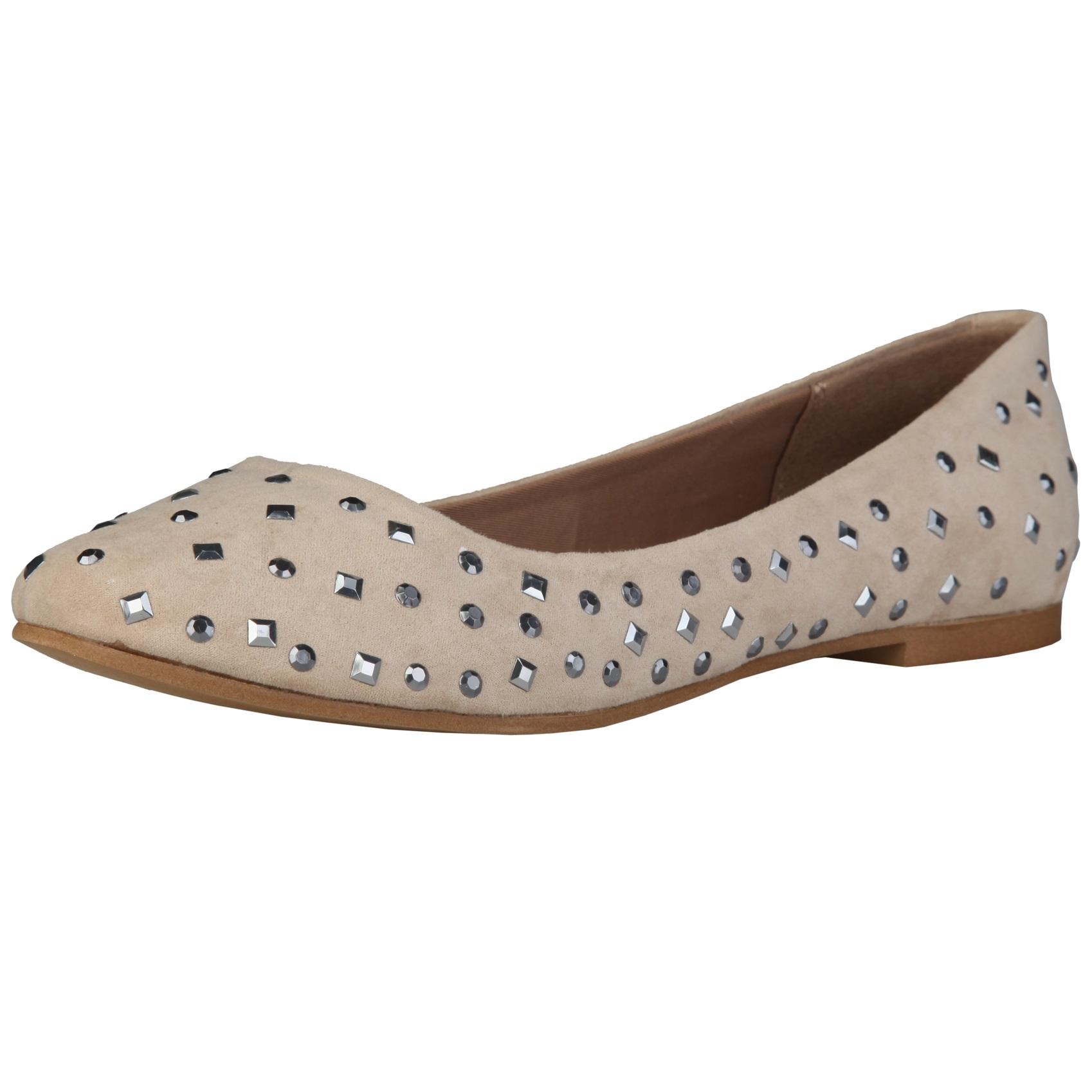 Sofia Loes Flat Shoes Beige Rf600151