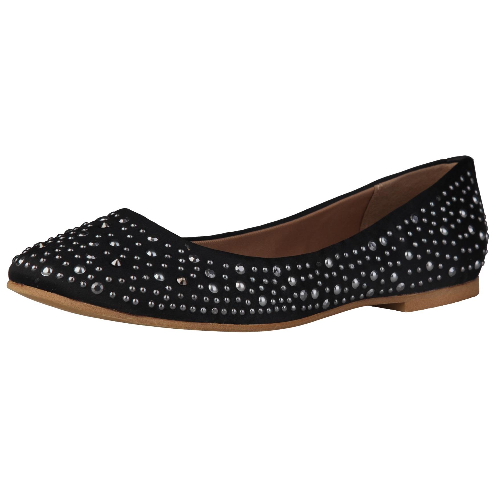 Sofia Loes Flat Shoes Black Rf600153