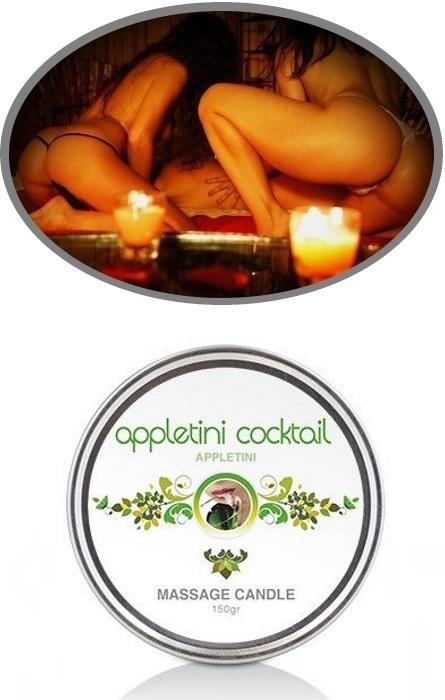 Vela Oleo de Massagem Appletini Cocktail RF300196