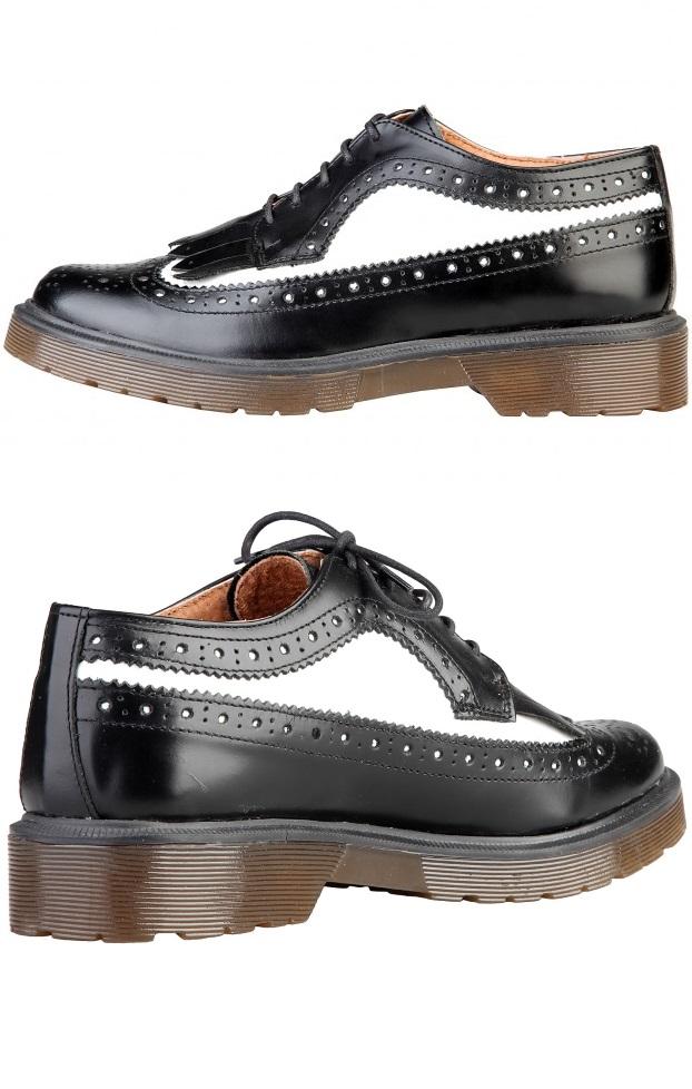 Ana Lublin Urban Shoes Ylva Nero Bianco Rf600190